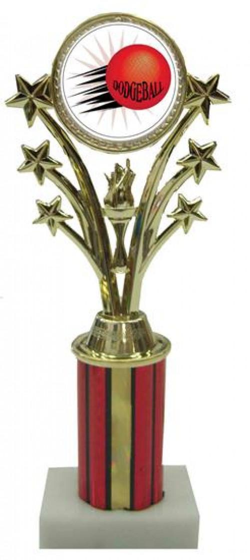 Dodgeball Star Column Trophy