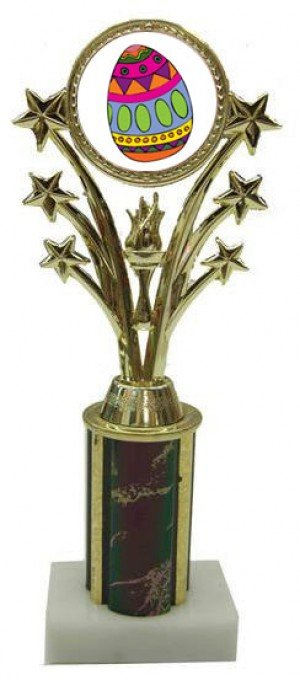 Easter Star Column Trophy
