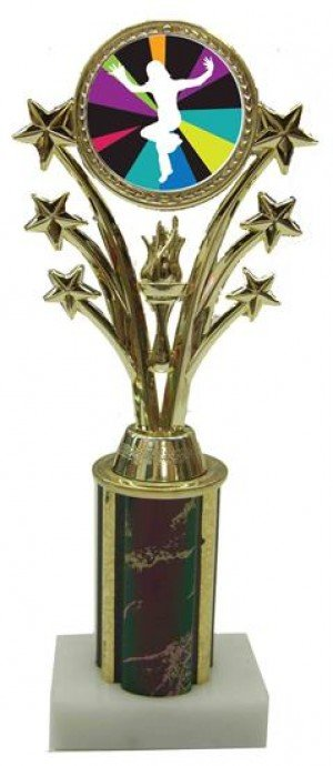Just Dance Wii Star Column Trophy