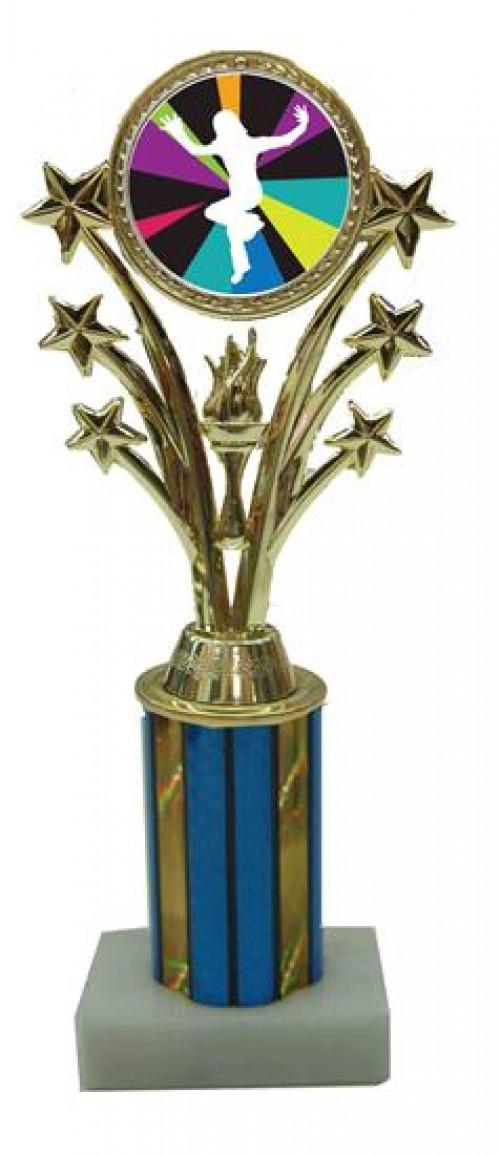 Just Dance Wii Star Column Trophy