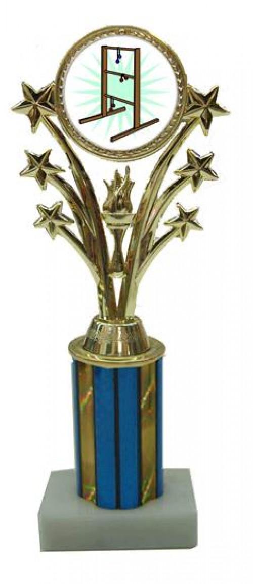 Star Ladder Golf Column Trophy