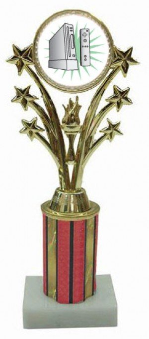 Wii Star Column Trophy
