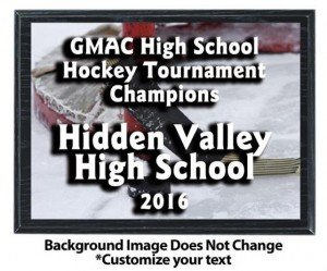 Hockey Sublimated Plaque