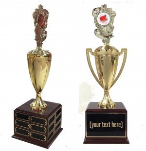 Flip Cup Traveling Trophy