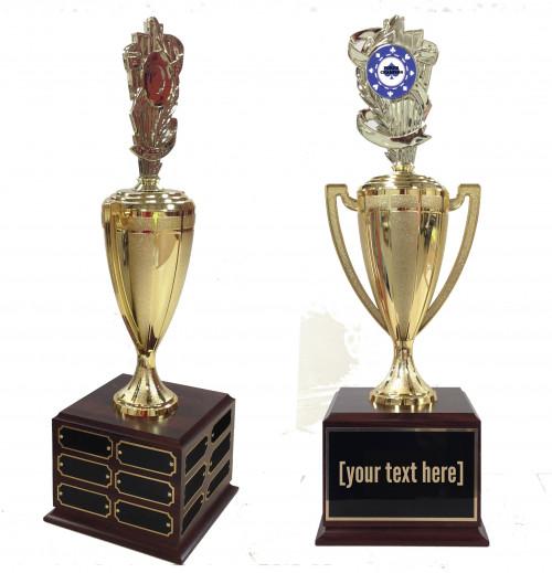 Poker Traveling Trophy