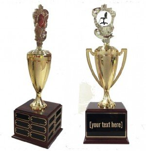Best Decorated Holiday Cubical Contest Traveling Trophy