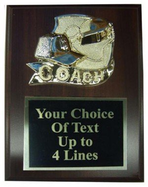 Coaches Plaque