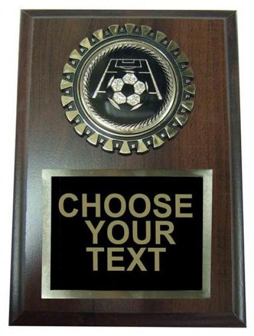 Soccer Award Plaque