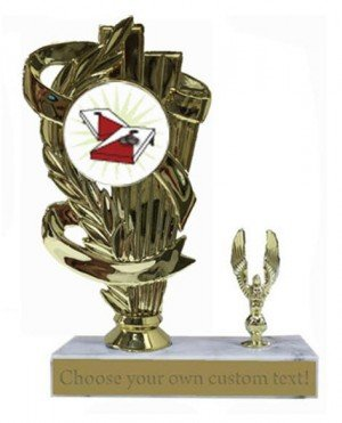Cornhole Marble Base Trophy
