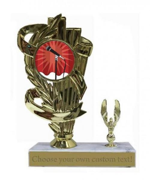 Karaoke Marble Base Trophy