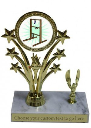 Ladder Golf Marble Base Star Trophy