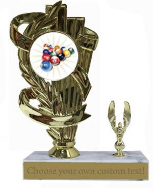 Billiard 2 Base Trophy