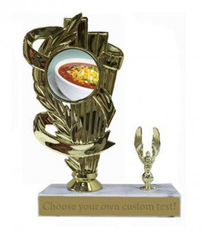 Chili Bowl Cook Off Base Trophy