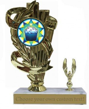 Cup Cake Decorating Base Trophy