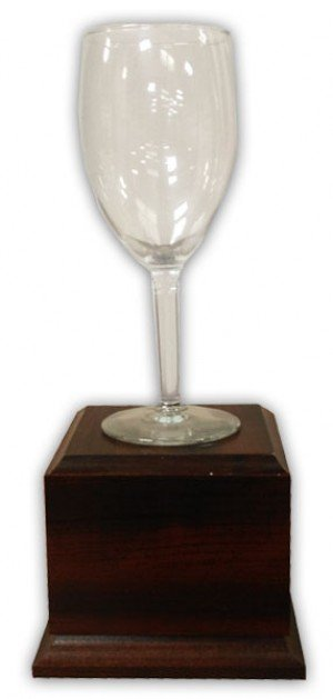 Wine Glass Trophy