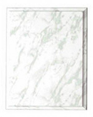 White Marble Vinyl Plaque