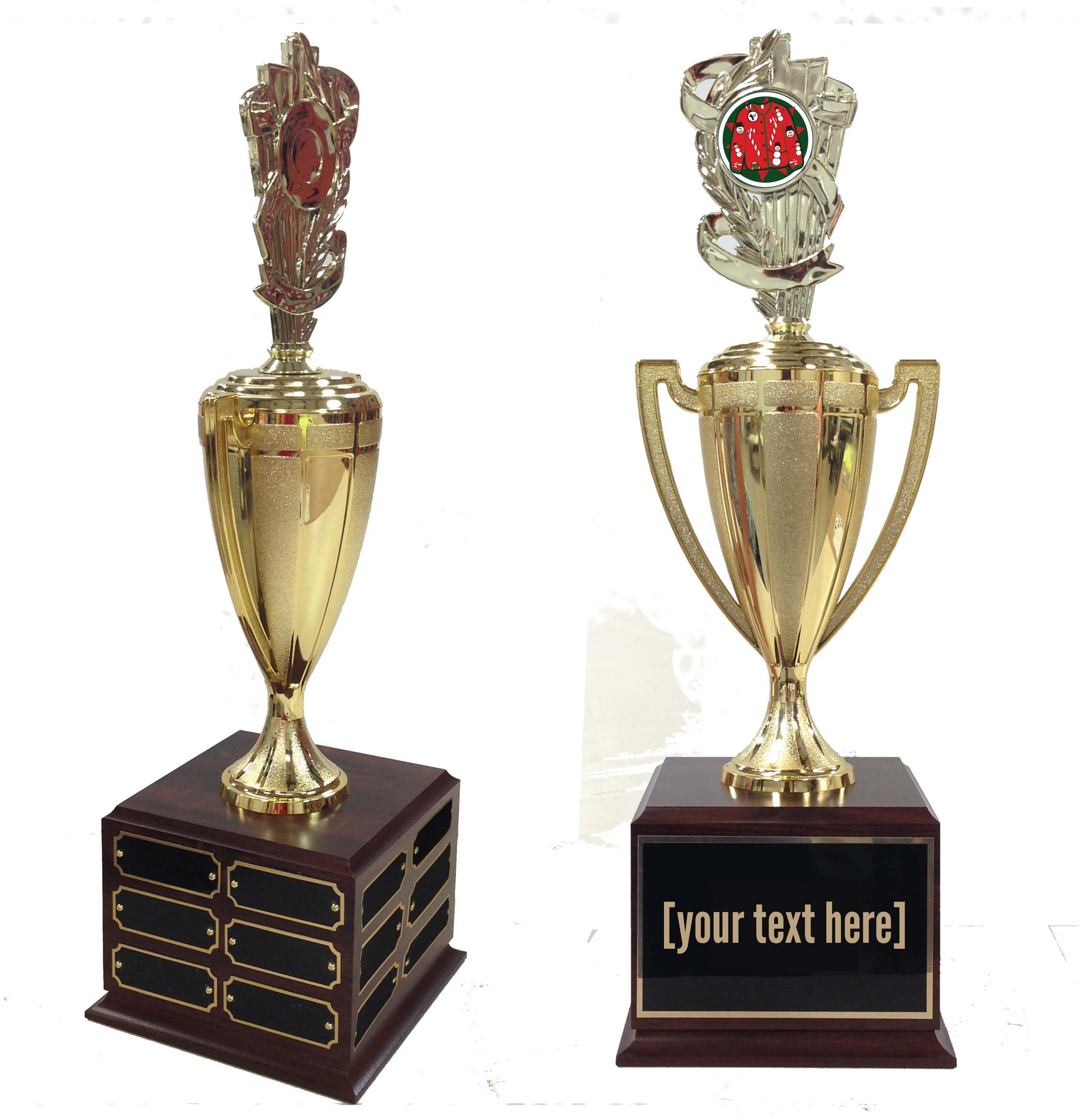 Ugly Sweater Contest Traveling Trophy