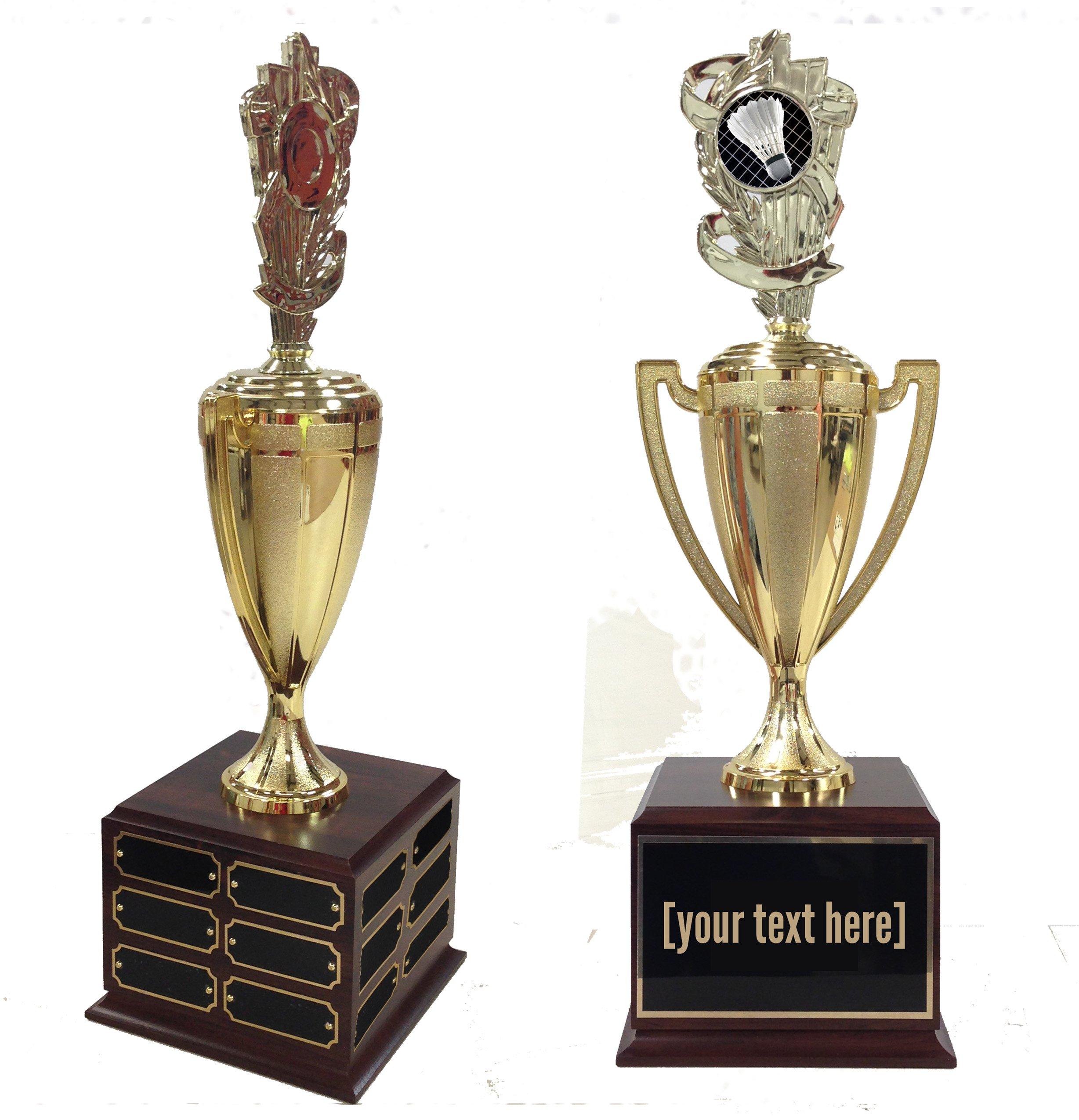 Badminton Traveling Trophy