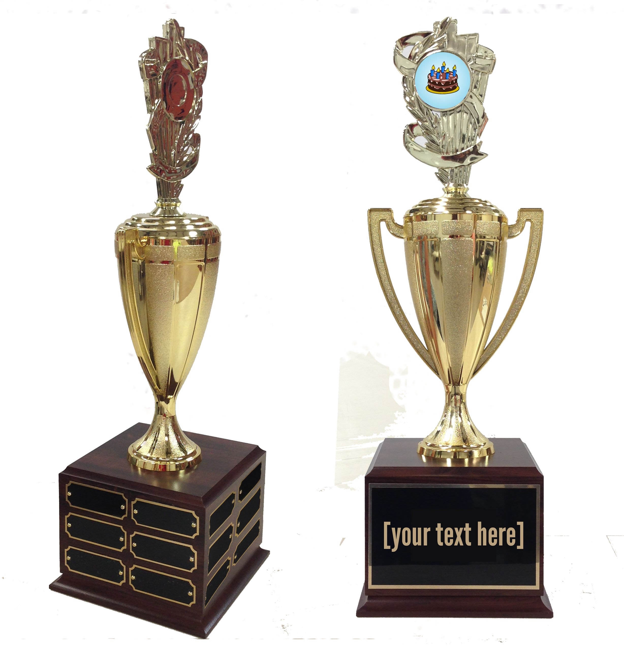 Cake Decorating Traveling Trophy