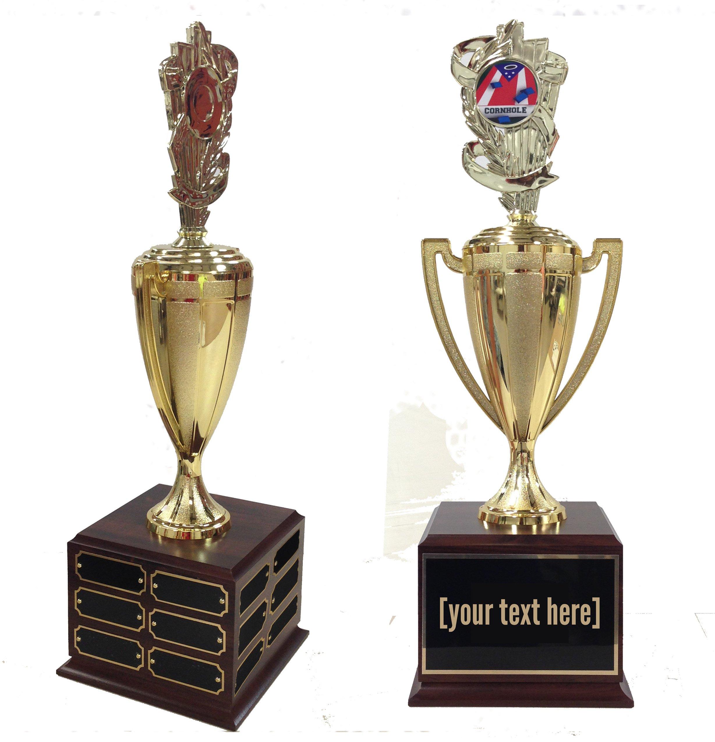 Cornhole 2 Traveling Trophy
