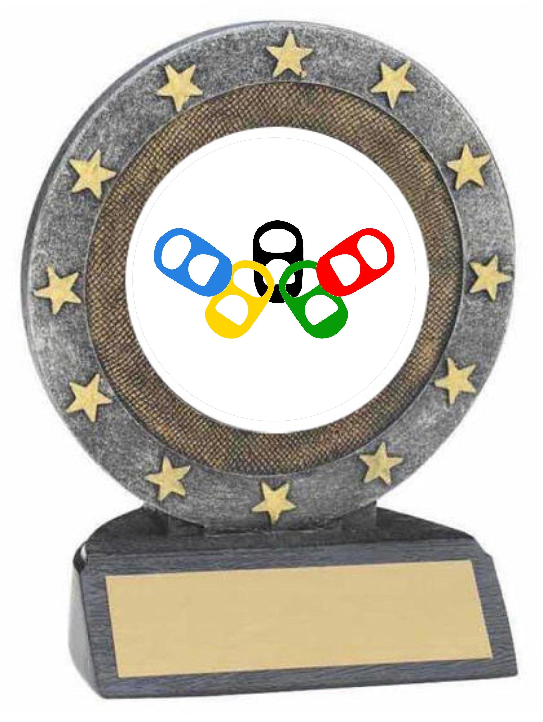 Beer Olympics Resin Trophy