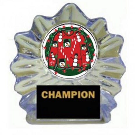 Ugly Sweater Trophy