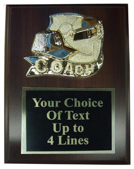 Coaches Plaque