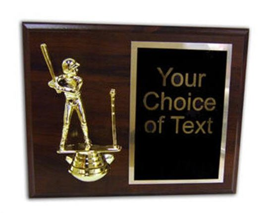 T Ball Plaque