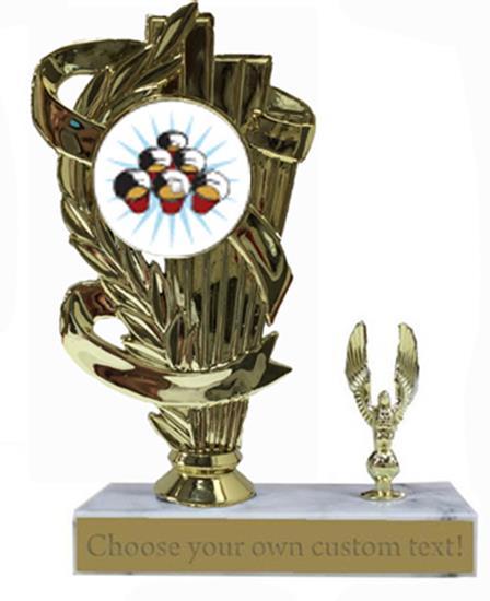 Beer Pong Marble Base Trophy