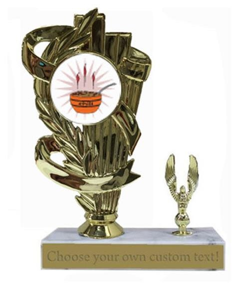 Chili Cook Off Marble Base Trophy