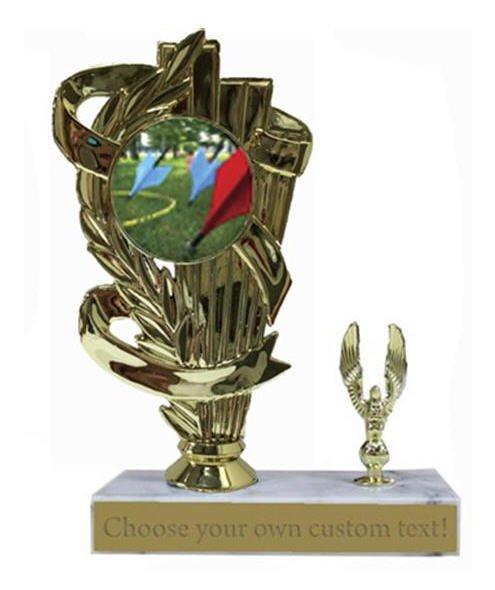 Lawn Dart Marble Base Trophy