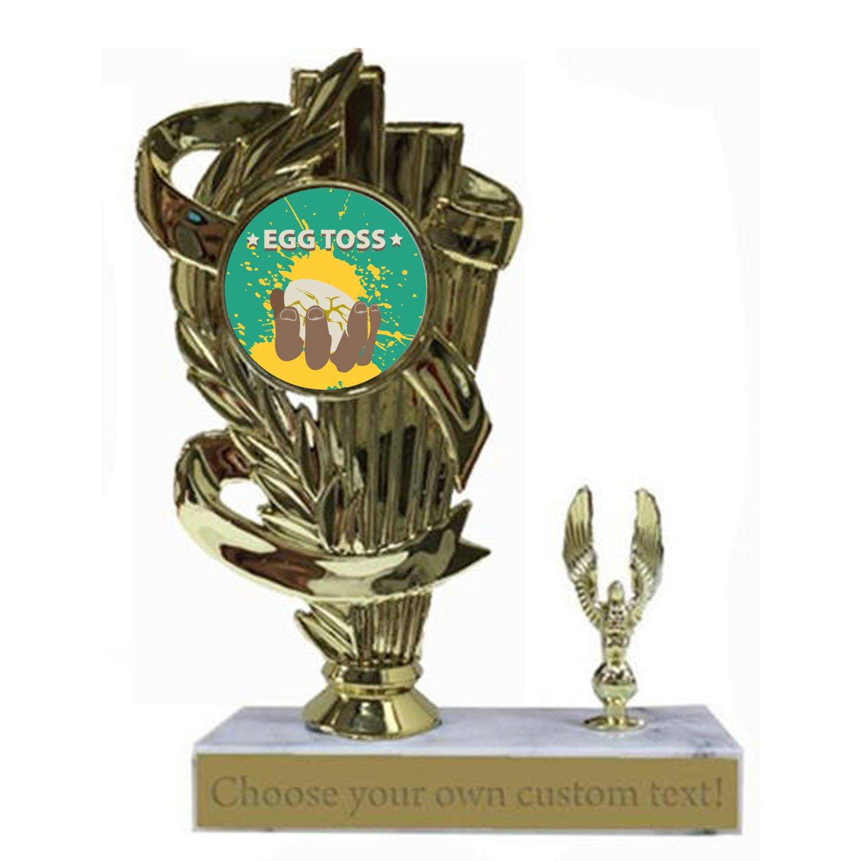 Egg Toss Eagle Trophy