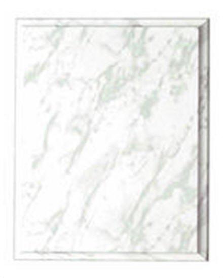 White Marble Vinyl Plaque
