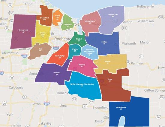 Valpak Rochester NY Service area