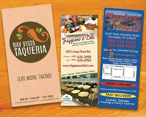 menu graphic design valpak rochester ny