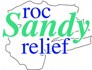 roc sandy relief logo rochester ny