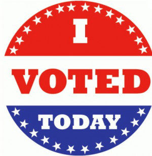 I voted image