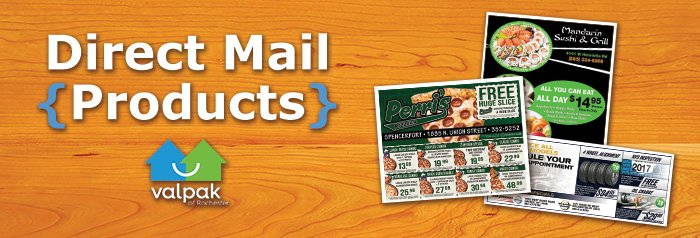 valpak rochester direct mail products