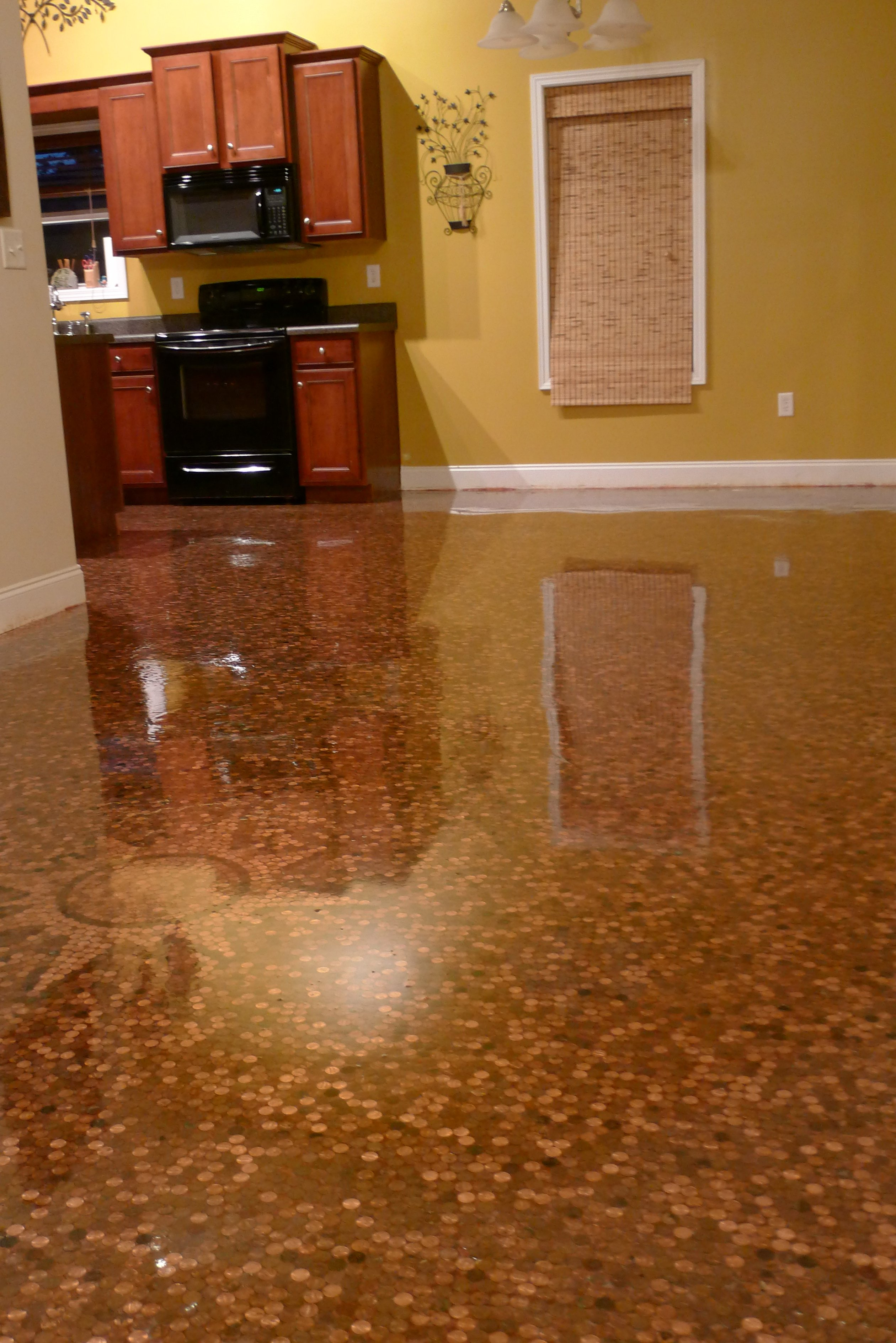 Kitchen Floor Epoxy Coating in Syracuse   CNY Creative ...