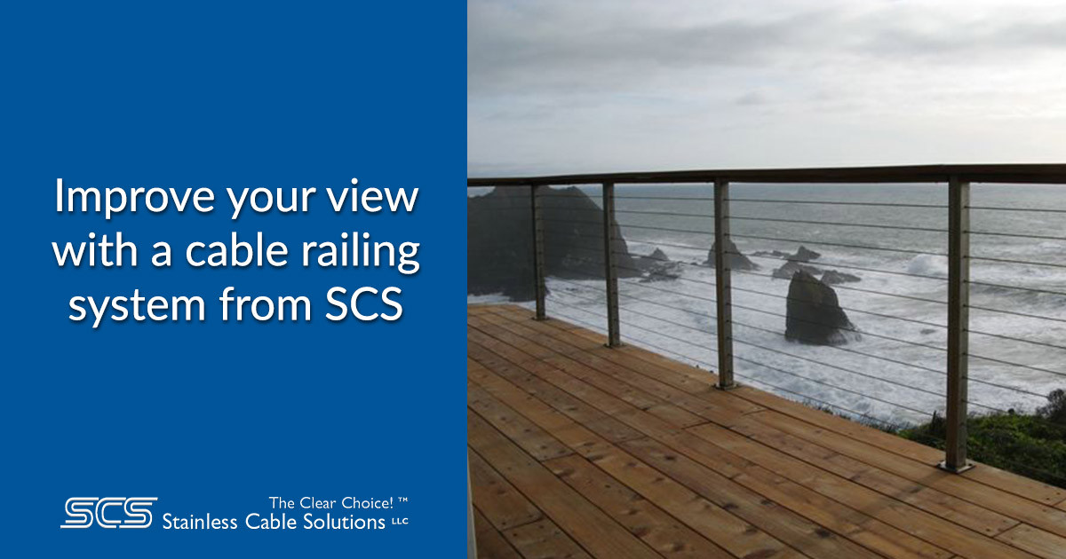 Transform Your View With a Cable Railing System from SCS