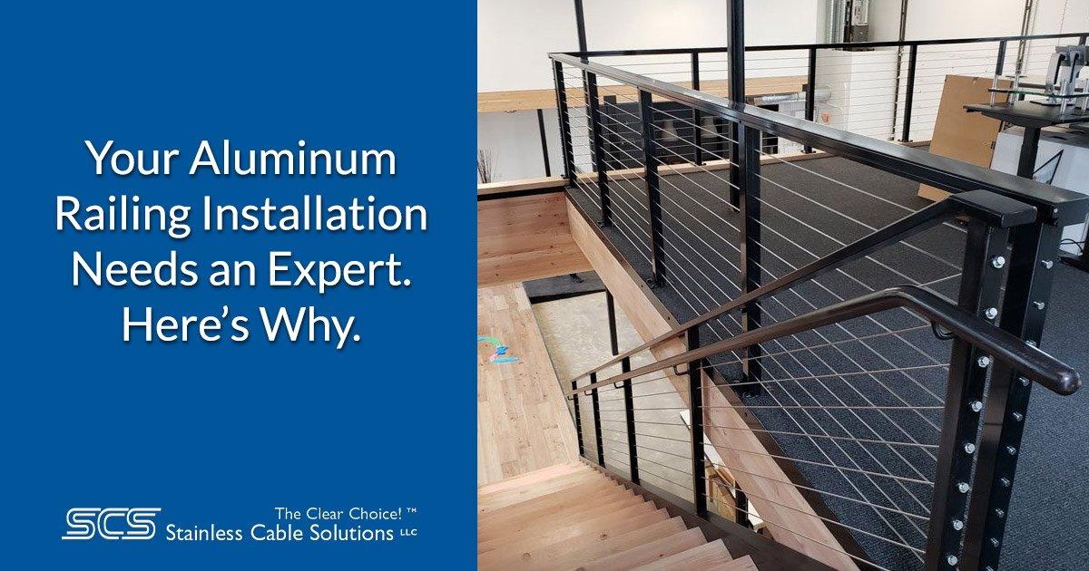 Expert Aluminum Railing Installation