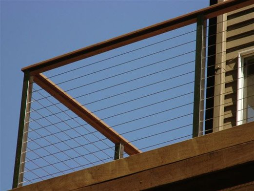 Stainless Railing Termination Posts