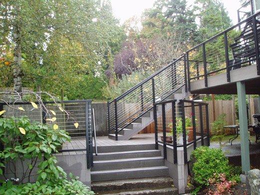 SR200 Aluminum Stair Rail