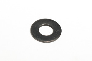Stainless Flat Washer Black Oxide