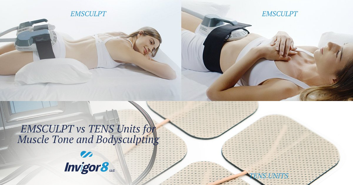 EMSCULPT® vs TENS for Muscle Tone and Bodysculpting