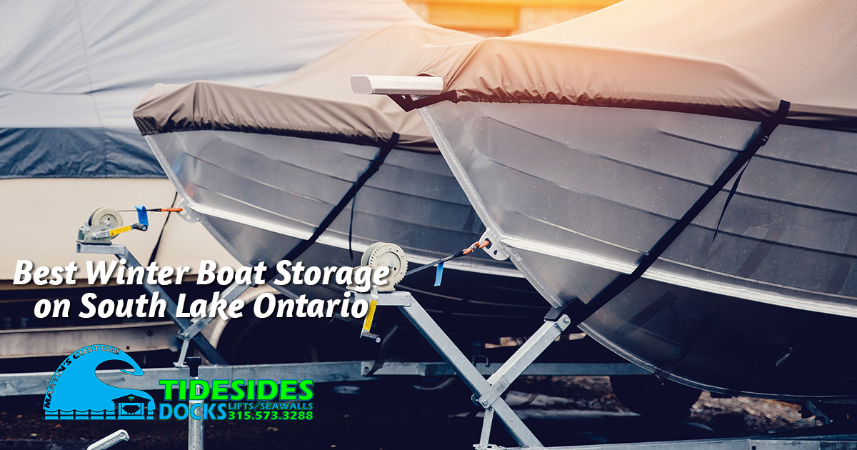 Safe, Secure Boat Storage on Lake Ontario's South Shore