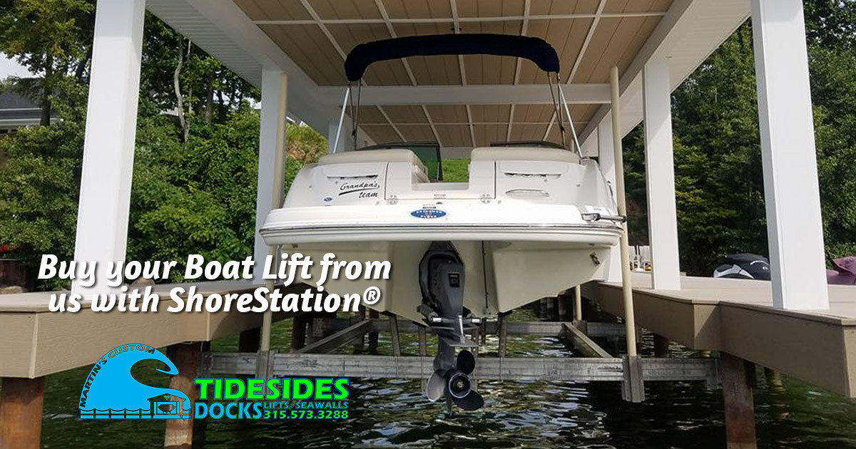 Why More Boat Owners Call Martin's for ShoreStation® Boat Lifts