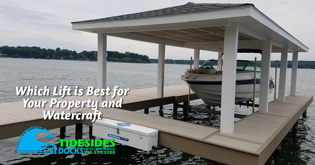 Choosing the Best Boat Lift for Your Waterfront Property