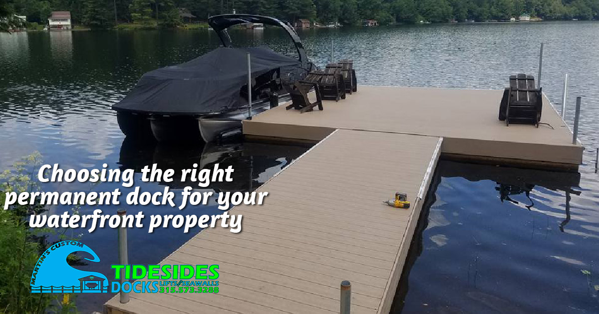 Choosing the Best Permanent Dock for Your Property