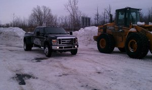 Commercial Snowplowing Syracuse New York